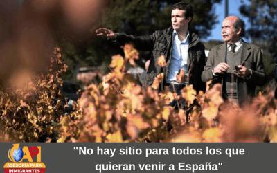 """""""No hay sitio para todos los que quieran venir a España"""""""