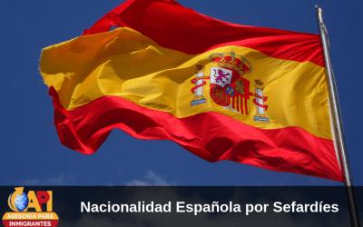 Nacionalidad española a sefardíes
