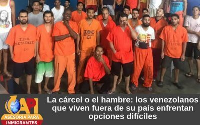 La cárcel o el hambre: los venezolanos que viven fuera de su país enfrentan opciones difíciles
