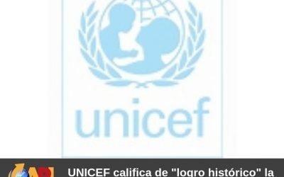 """UNICEF califica de """"logro histórico"""" la adopción del pacto mundial para la migración."""