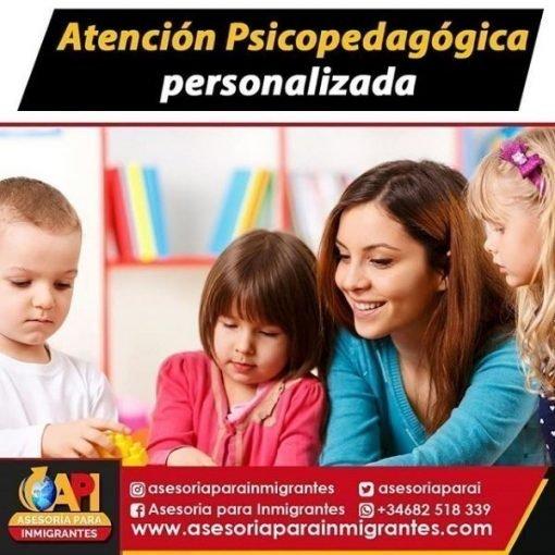 atencion psicopegagogica personalizada