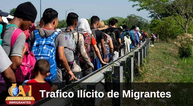 trafico de migrantes ilicitos