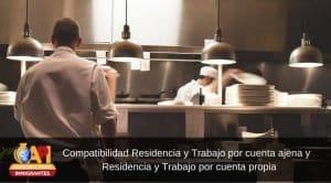 compatibilidad de residencia y trabajo