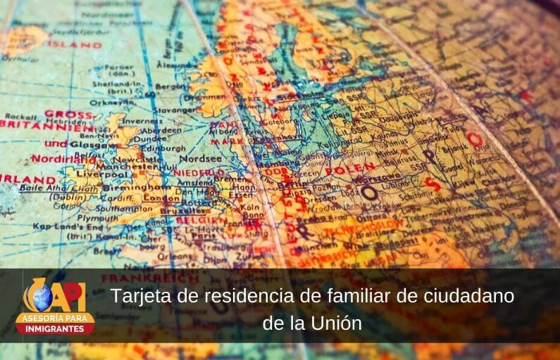 residencia de familiar de ciudadano de la Unión