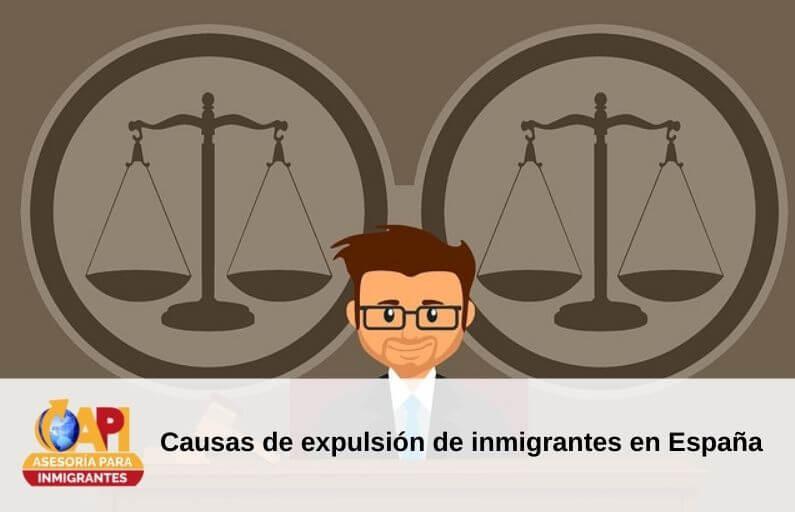 causas expulsión inmigrantes
