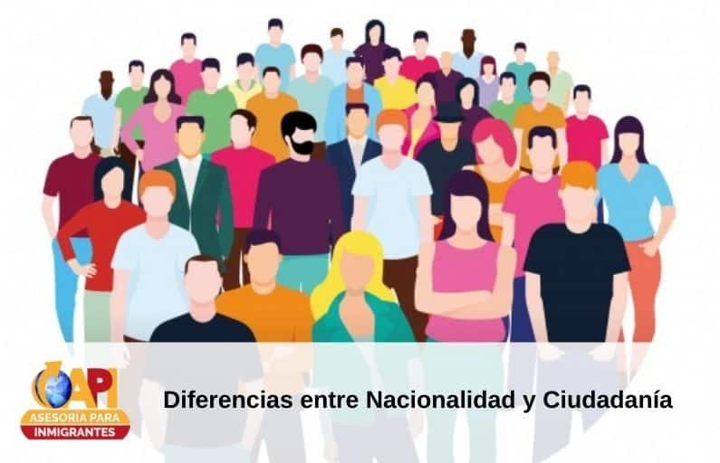 Diferencias entre Nacionalidad y Ciudadanía
