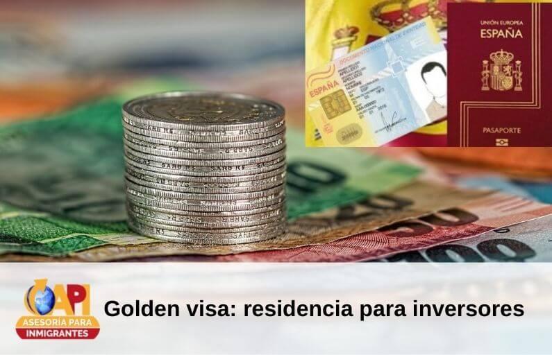 Visa golden inversionistas españa